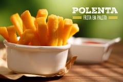 Polenta fries Royalty Free Stock Photos