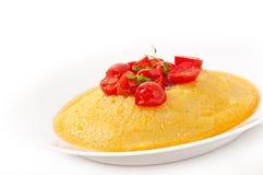 Polenta - Italian traditional food Stock Photos