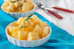 Polenta with rosemary Royalty Free Stock Photo