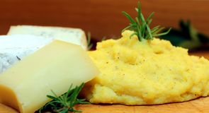 Polenta Royalty Free Stock Photo