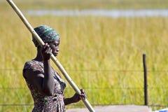 Poler di Mokoro fotografia stock libera da diritti