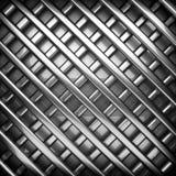 Polerad metallbakgrund Royaltyfria Foton