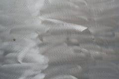 Polerad metallplatta Fotografering för Bildbyråer