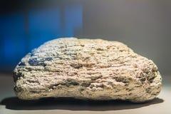 Polermedel- eller pumicitestenprov för utbildning Polera är en vol Arkivfoton
