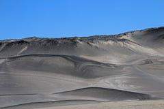 Polermedelstenar på Campo de Piedra Pomez, Catamarca, Argentina Arkivfoto