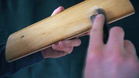 Polerownicza drewniana deska z szklakiem zbiory