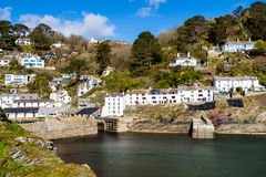 Polerro Harbour Cornwall Royalty Free Stock Photography