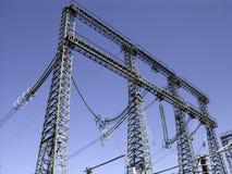 Poles_4 elétrico Fotografia de Stock