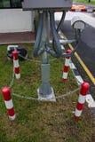 Poles Rounding defense steel Royalty Free Stock Photo