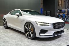 88th Geneva International Motor Show 2018 - Polestar 1 stock photo
