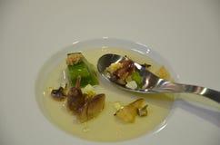 Polewka - odgórny gastronomy Fotografia Royalty Free
