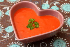 Polewka pomidory obrazy stock