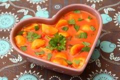 Polewka pomidory fotografia stock