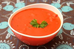 Polewka pomidory obraz stock