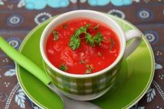 Polewka pomidory obraz royalty free