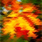 Poli basso variopinto del mosaico del fondo fotografia stock libera da diritti