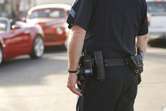 Poli de tráfico Imagen de archivo libre de regalías