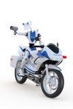 Poli de tráfico del robot Foto de archivo libre de regalías