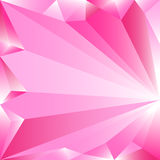 Poli fondo basso rosa astratto Elemento di progettazione dell'illustrazione di vettore Pendenza bianca rosa Fotografie Stock Libere da Diritti