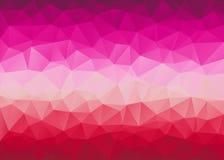 Poli fondo triangolare basso Fotografia Stock