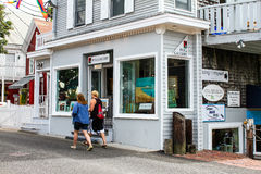 POLi Gallery, Provincetown, MA. Royalty Free Stock Photos