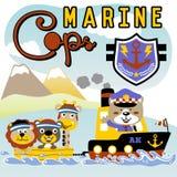 Poli marino libre illustration