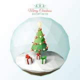 Poli Natale basso Fotografia Stock Libera da Diritti