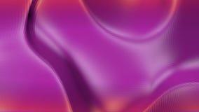 Poli superficie d'ondeggiamento bassa viola o porpora come paesaggio o struttura molecolare Ambiente di vibrazione geometrico vio illustrazione vettoriale