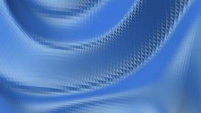 Poli superficie in vibrazione bassa blu come fondo di arte Ambiente di vibrazione geometrico poligonale blu o palpitare illustrazione vettoriale