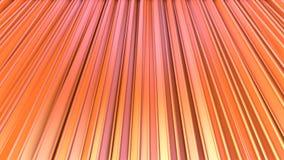 Poli tende basse rosa arancioni semplici astratte 3D come fondo del gioco del fumetto Poli fondo basso geometrico molle di moto royalty illustrazione gratis