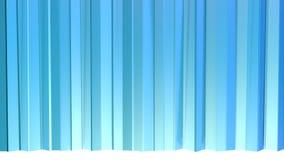 Poli tende basse viola blu semplici astratte 3D come chiaramente contesto Poli fondo basso geometrico molle di moto di illustrazione di stock