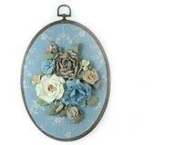 Polia à mão isolada, flores Fotos de Stock Royalty Free