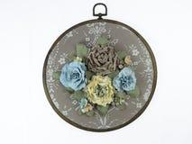 Polias à mão isoladas, flores Imagens de Stock