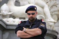 policía Fotografía de archivo