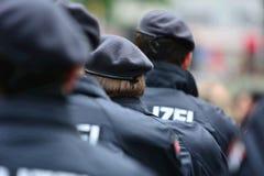 Policía alemana imágenes de archivo libres de regalías
