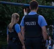 Policía alemana Imagen de archivo libre de regalías