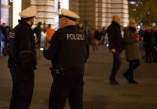Policía alemana Fotos de archivo
