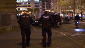 Policía alemana Fotografía de archivo