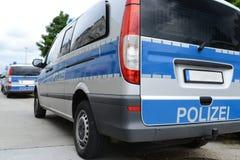 Policía alemana imagen de archivo