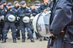 Policía alemana foto de archivo libre de regalías