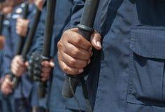 Policía antidisturbios Fotos de archivo libres de regalías