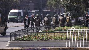 Policía antidisturbios, Chile
