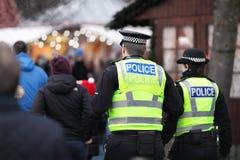Policía británica Fotografía de archivo