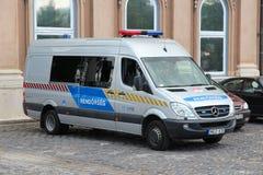 Policía de Hungría Foto de archivo
