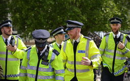 Policía de Londres Imágenes de archivo libres de regalías