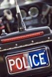 Policía de los E.E.U.U. Foto de archivo libre de regalías
