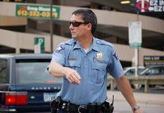 Policía de Minneapolis foto de archivo libre de regalías