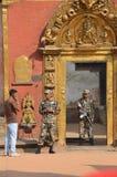 Policía de Nepal, 2011 Fotos de archivo libres de regalías