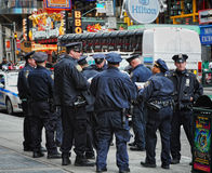 Policía de NYC Imagen de archivo