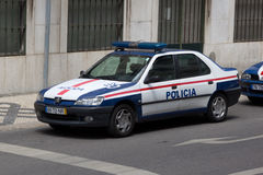 Policía de Portugal Foto de archivo